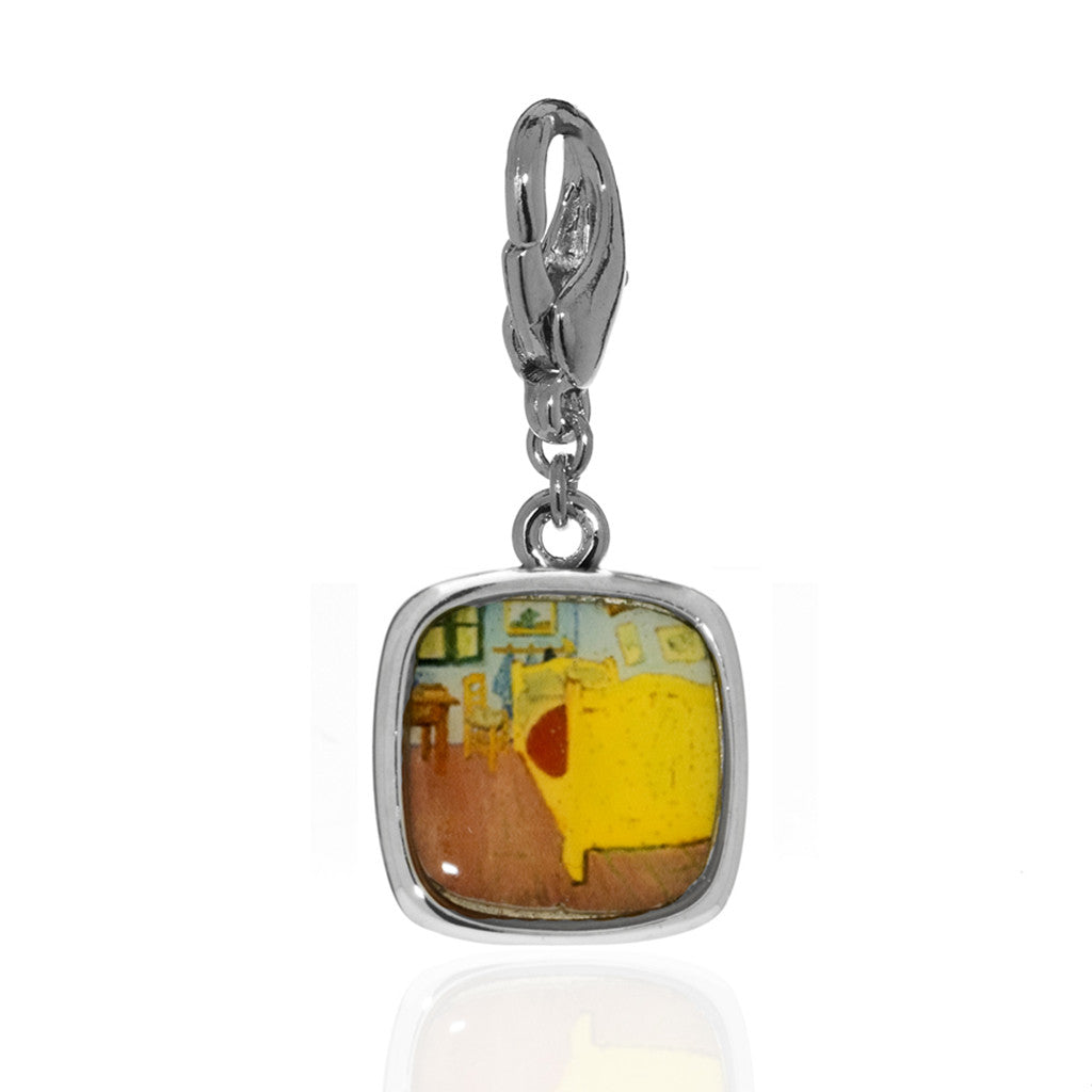 Van Gogh Bedroom Charm (Lobster Claw)