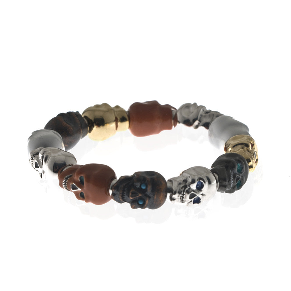 Lucky Skull Stretch Bracelet