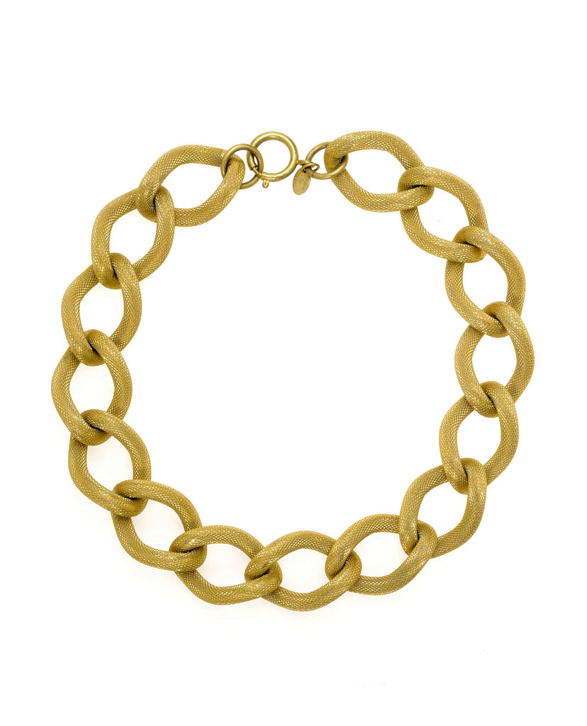COLETTE BOLD CURB CHAIN NECKLACE