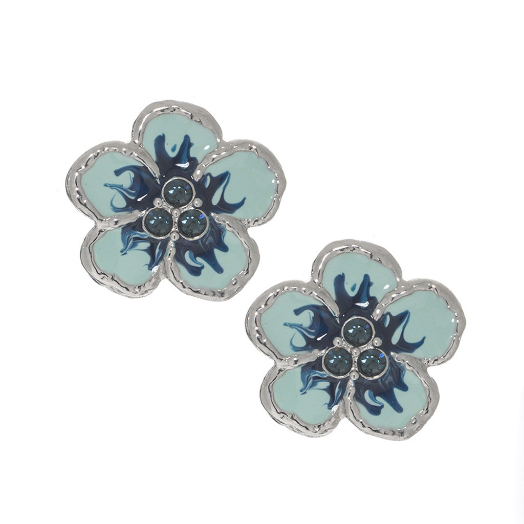 Orchid Evening Blue Mix Earrings