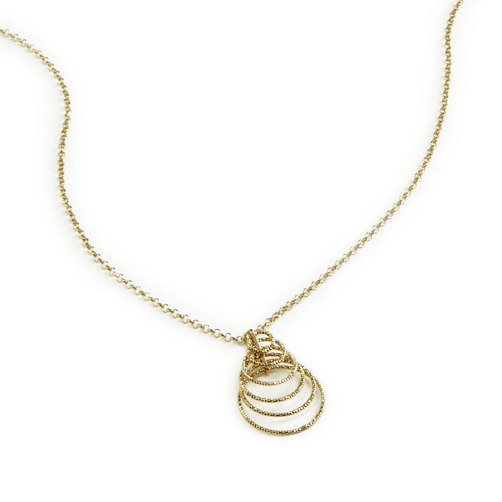 22k Gold Plated Sterling silver Necklace 18""