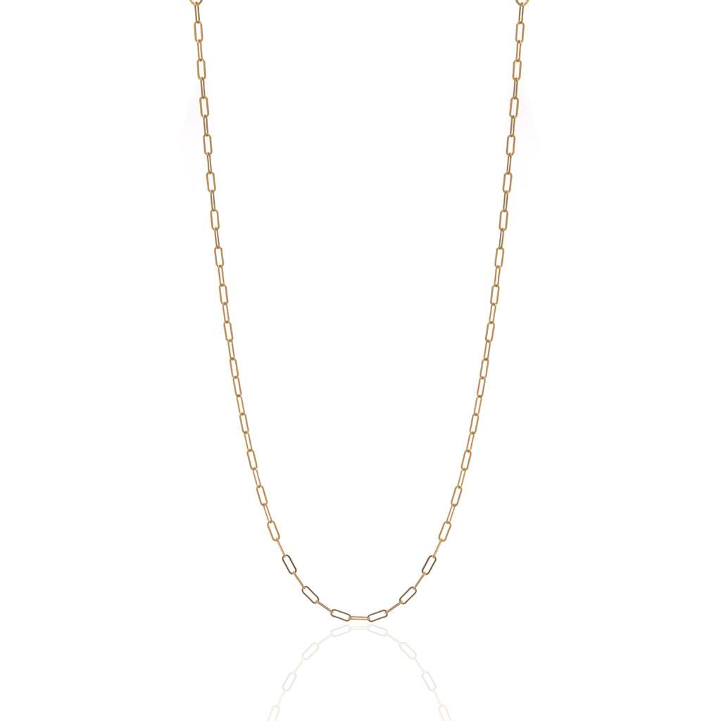 22k Gold Plated Sterling Silver  Chain 16""