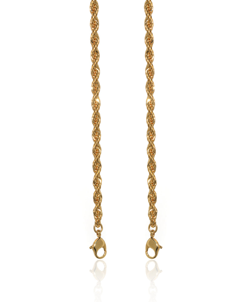 Lisa Diamond Cut Rope Chain