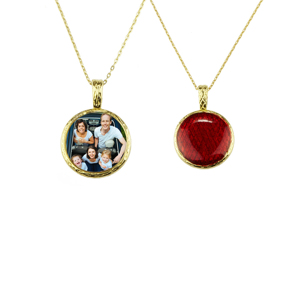 Stardust Memories Small Red Pendant