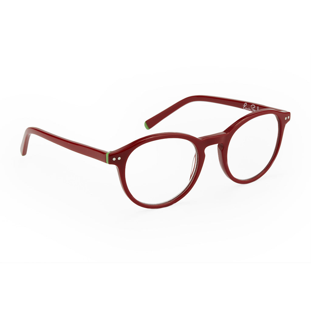 Round Frame Red Readers