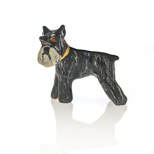 Black Schnauzer Adorable Pooch ® Pin