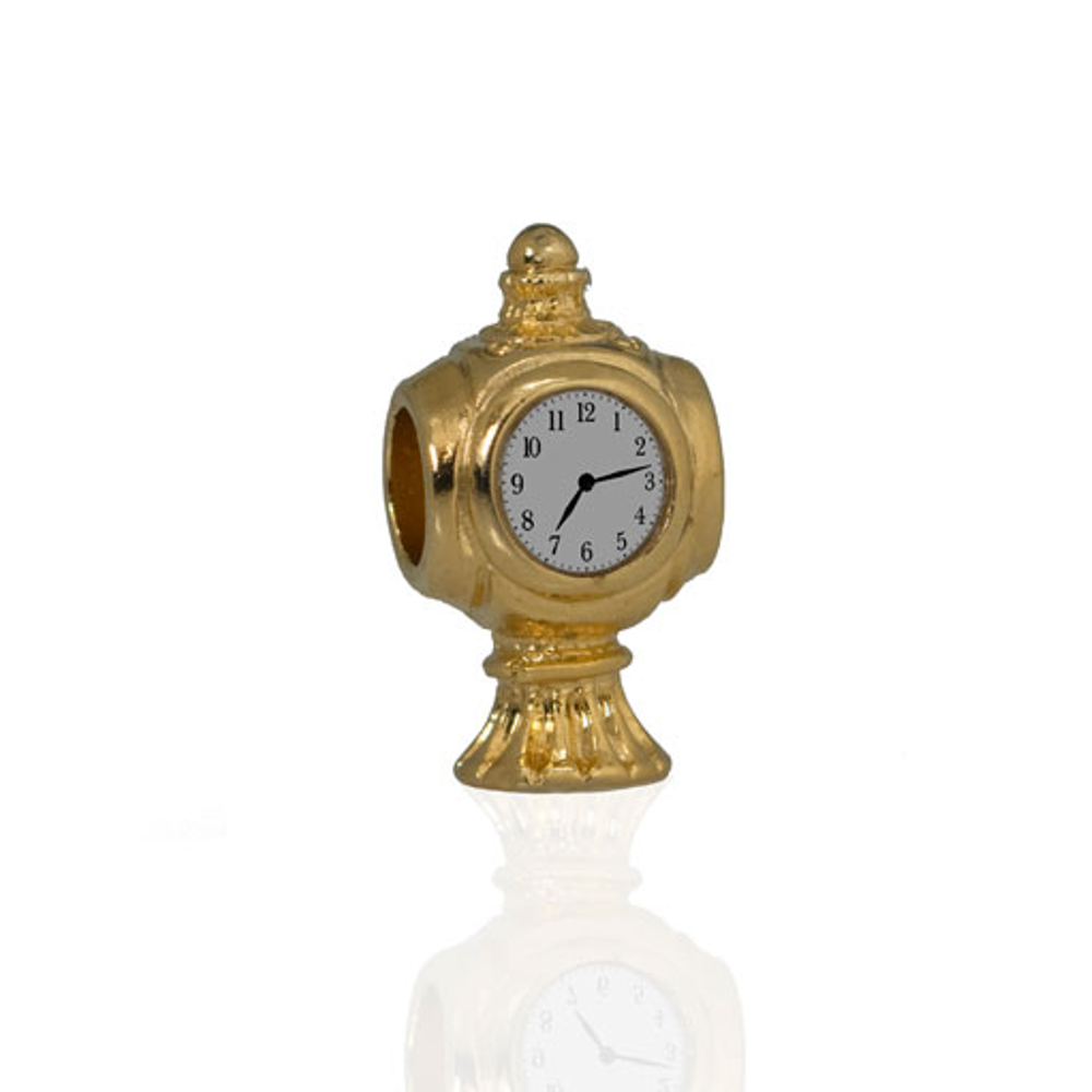Me Me™ Grand Central Goldtone Clock Charm