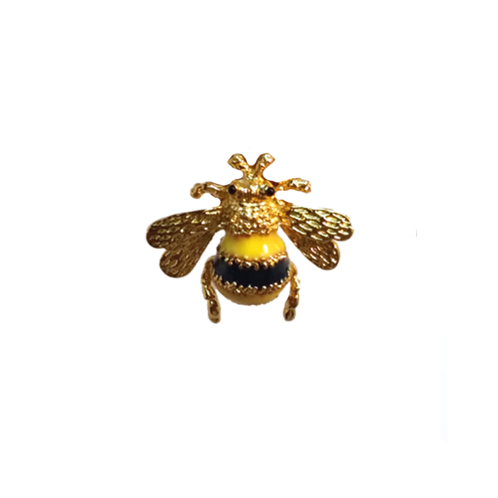 Gold Tone Bumble Bee Tie Tac/Pin