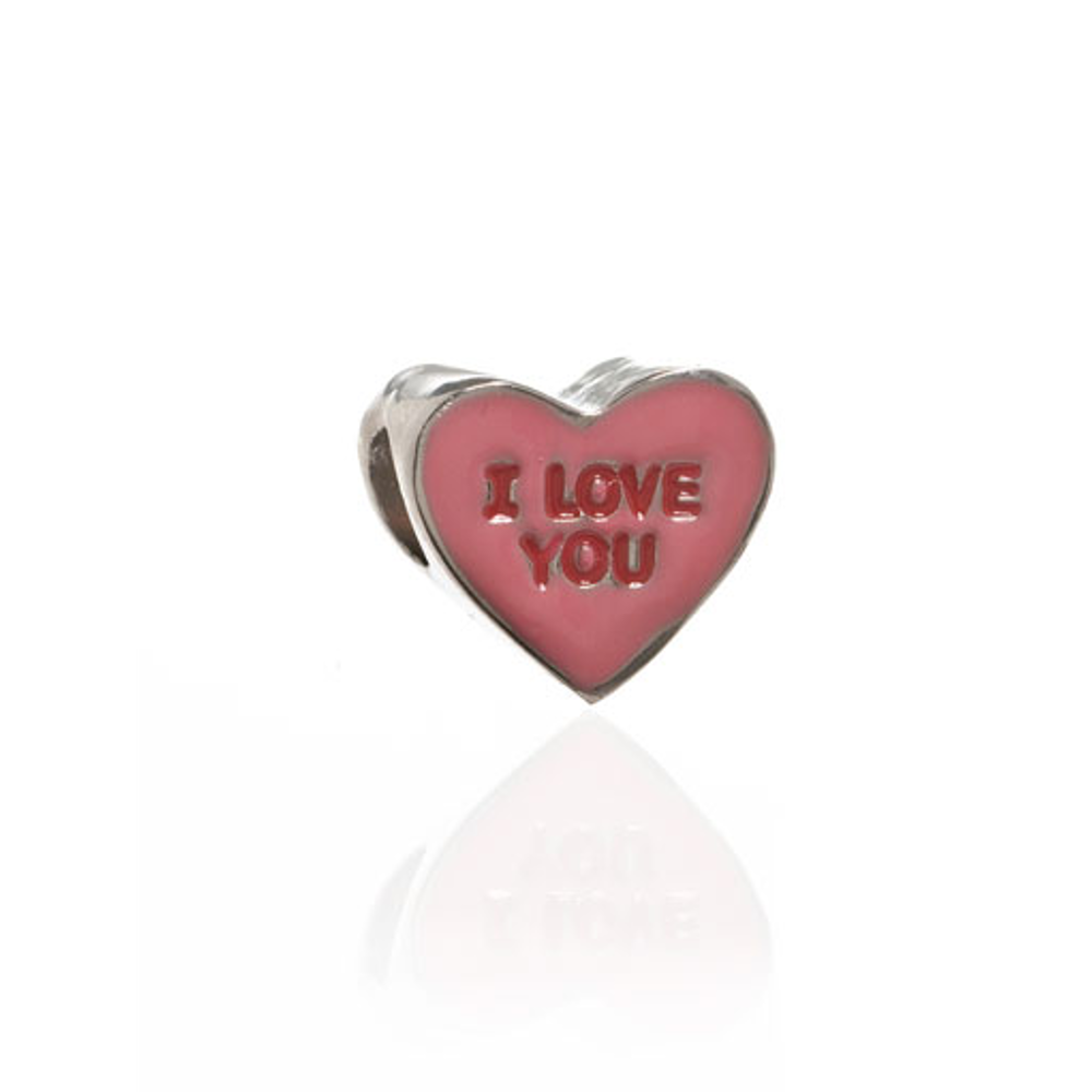 ME ME™ Pink I LOVE YOU Candy Heart Charm