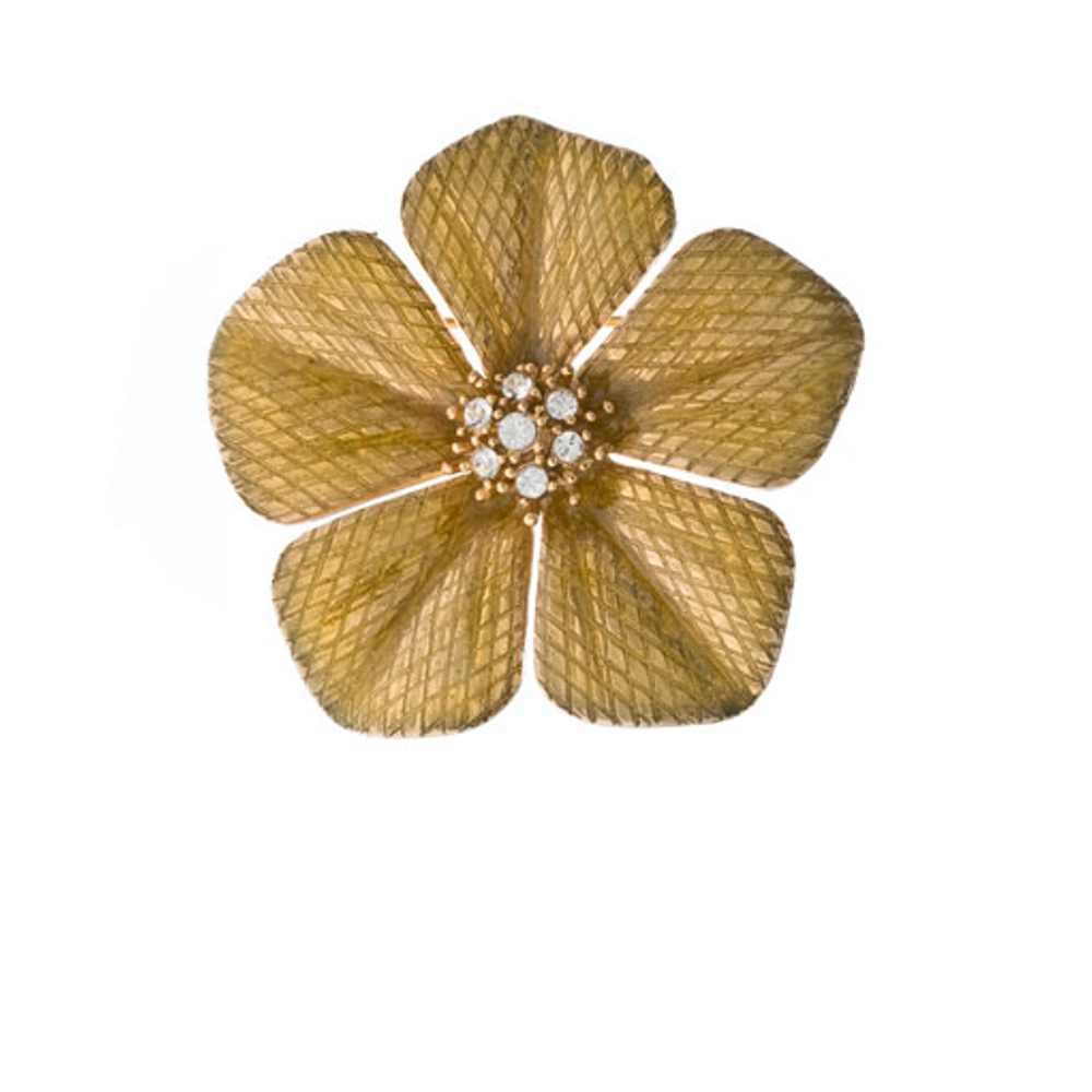 Garden of Love Mustard Flower Pin