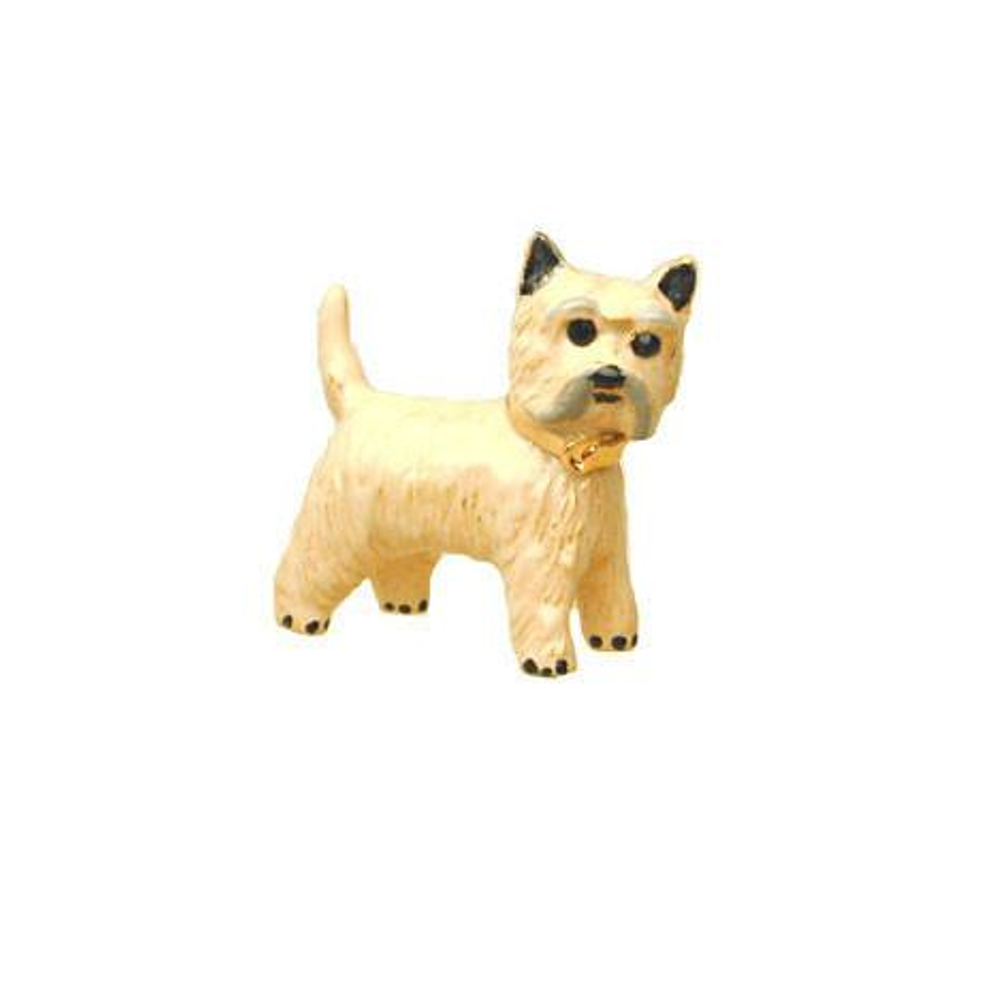 Ivory Cairn Terrier Adorable Pooch ® Pin
