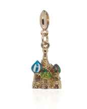 ME ME™ Gold Tone St. Basil Cathedral Drop Charm