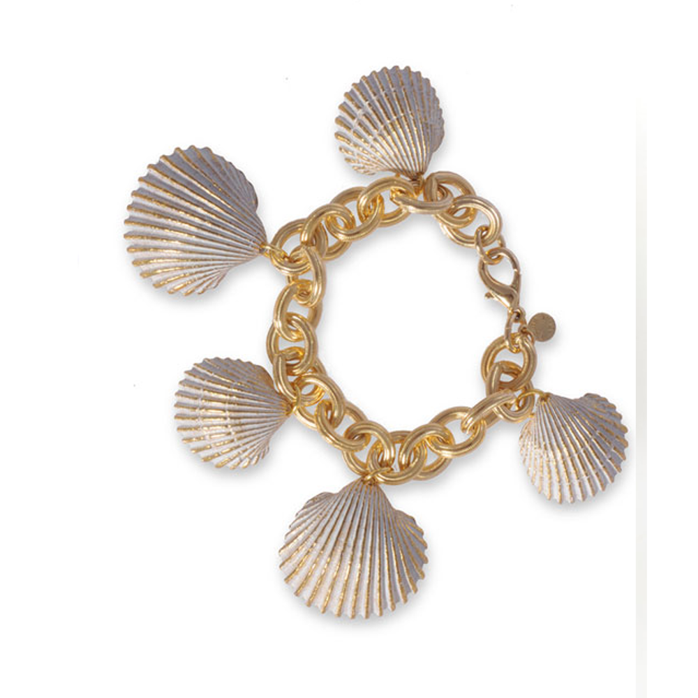 Maldives Scallop Chain Bracelet