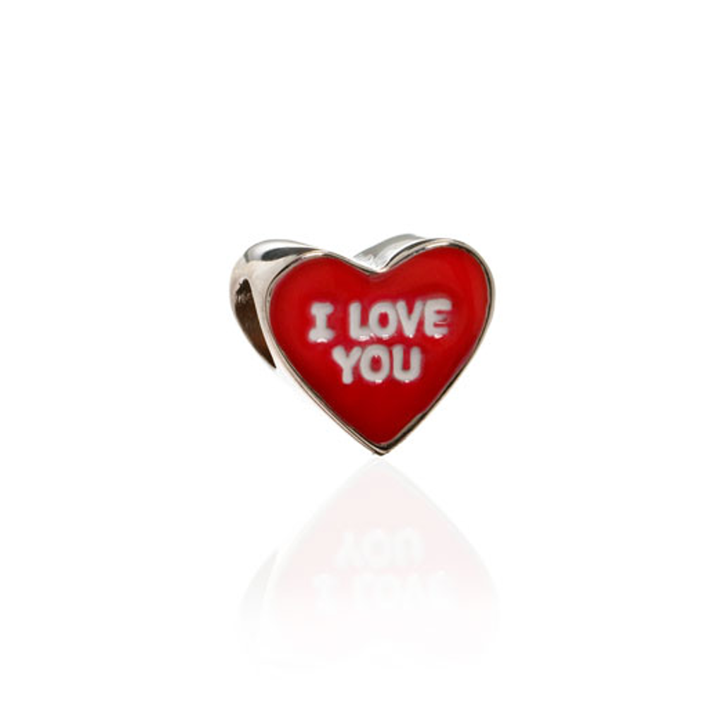ME ME™ Red I LOVE YOU Candy Heart Charm