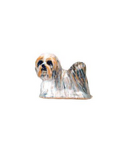 White Lhasa Apso Adorable Pooch ® Pin