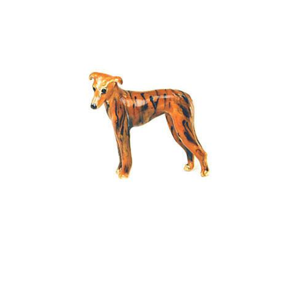 Brown Greyhound Adorable Pooch ® Pin