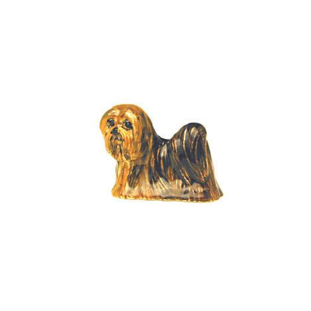 Brown Lhasa Apso Adorable Pooch ® Pin