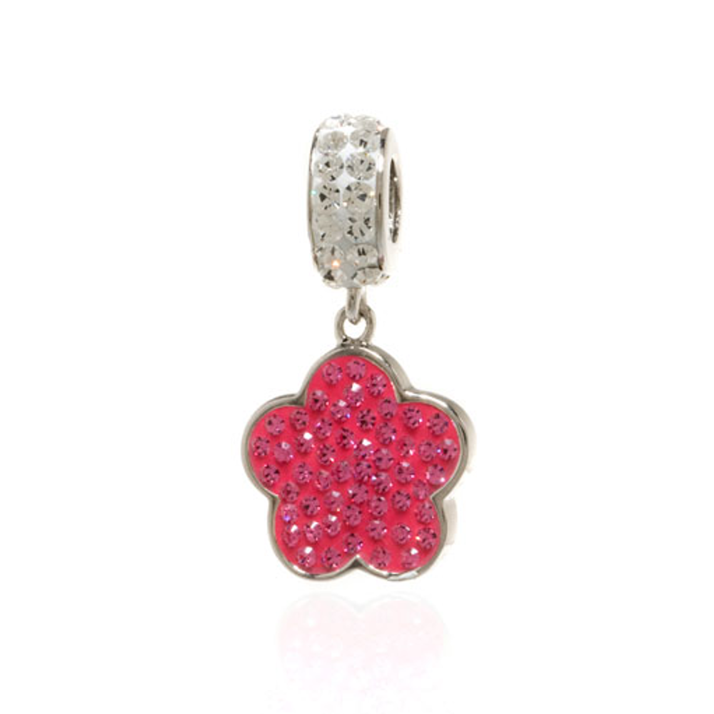 ME ME™ Crystal Flower Drop Charm