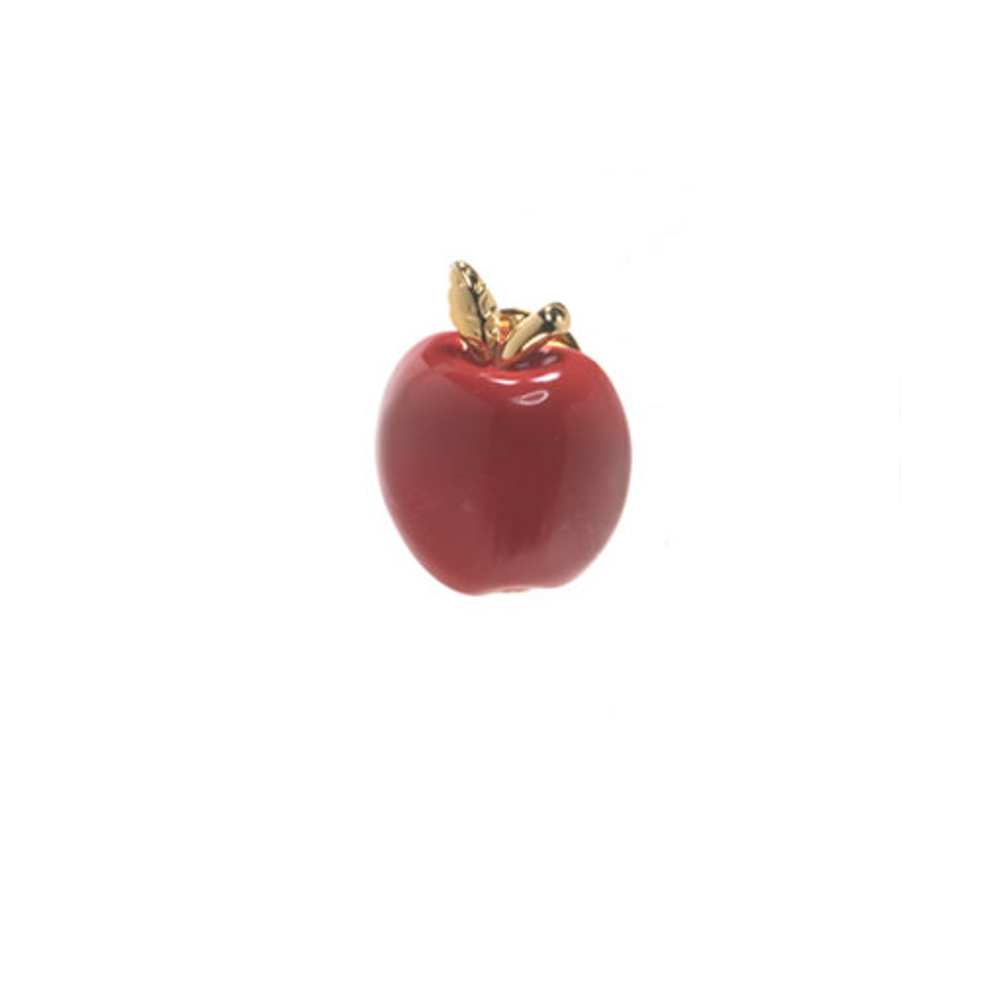 Red Apple Tie Tack