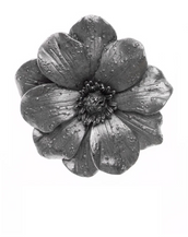 Giverny Silver Tone Flower Enhancer/Pin