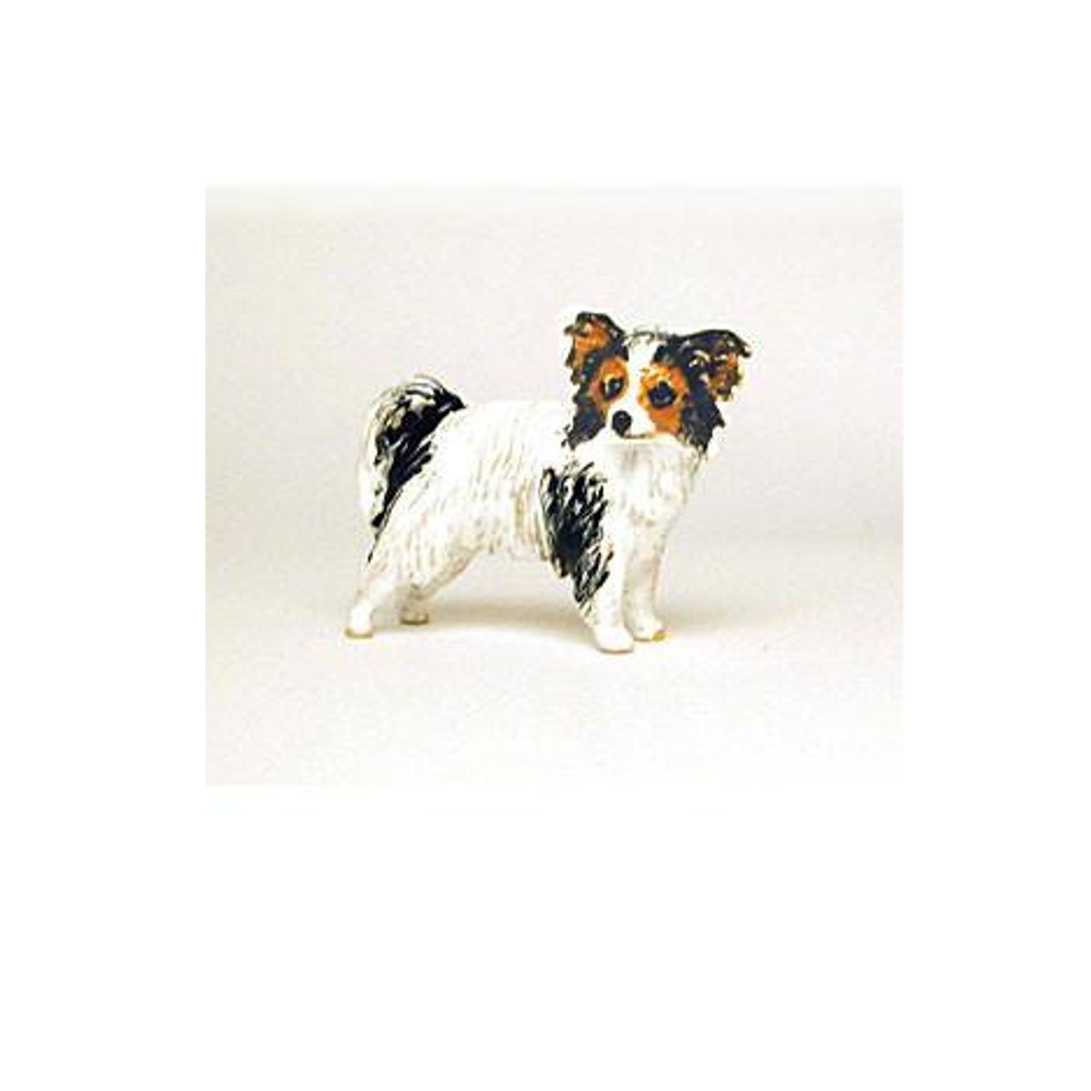 Black/White Papillion  Adorable Pooch ® Pin