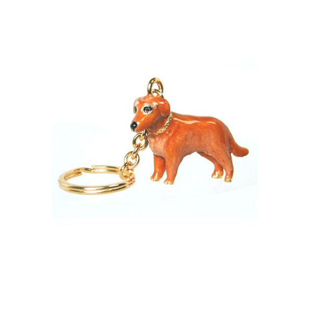 Golden Retriever Adorable Pooch ® Keyring