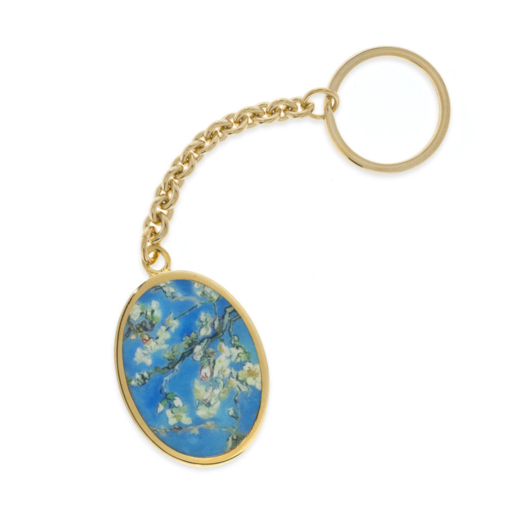 Van Gogh Almond Blossoms Keyrings