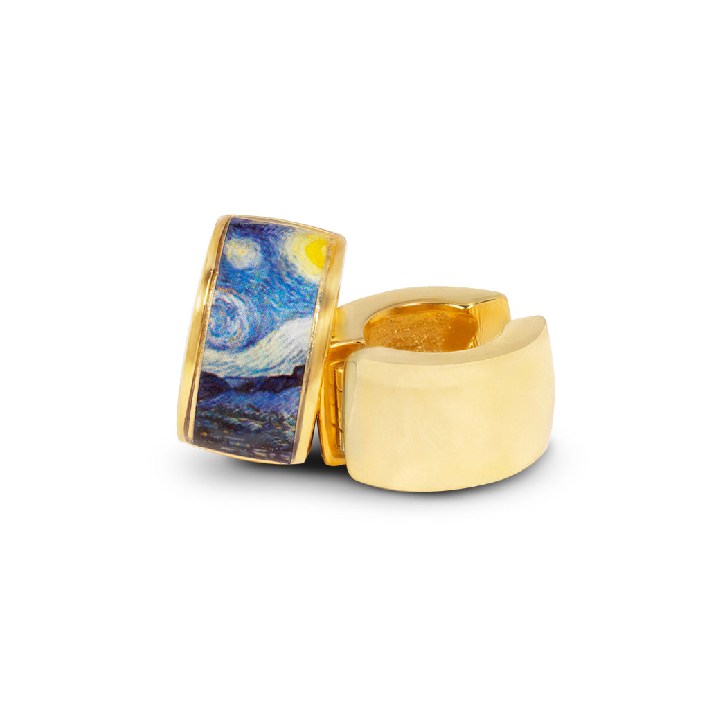 Goldtone The Starry Night Reversible Hugs®