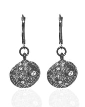 Stardust Seashell Crystal Drop Earrings