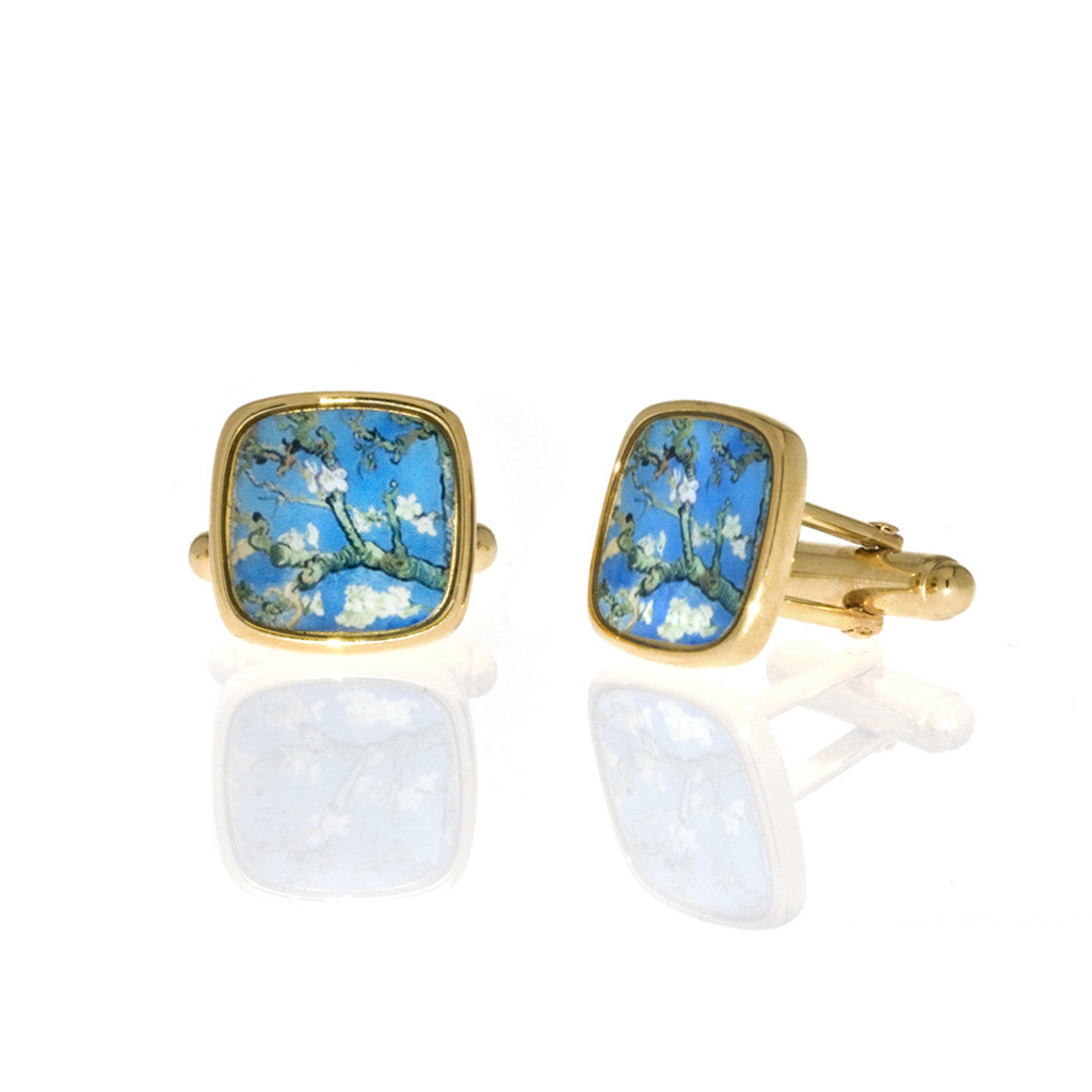 Van Gogh Almond Blossoms Cufflinks