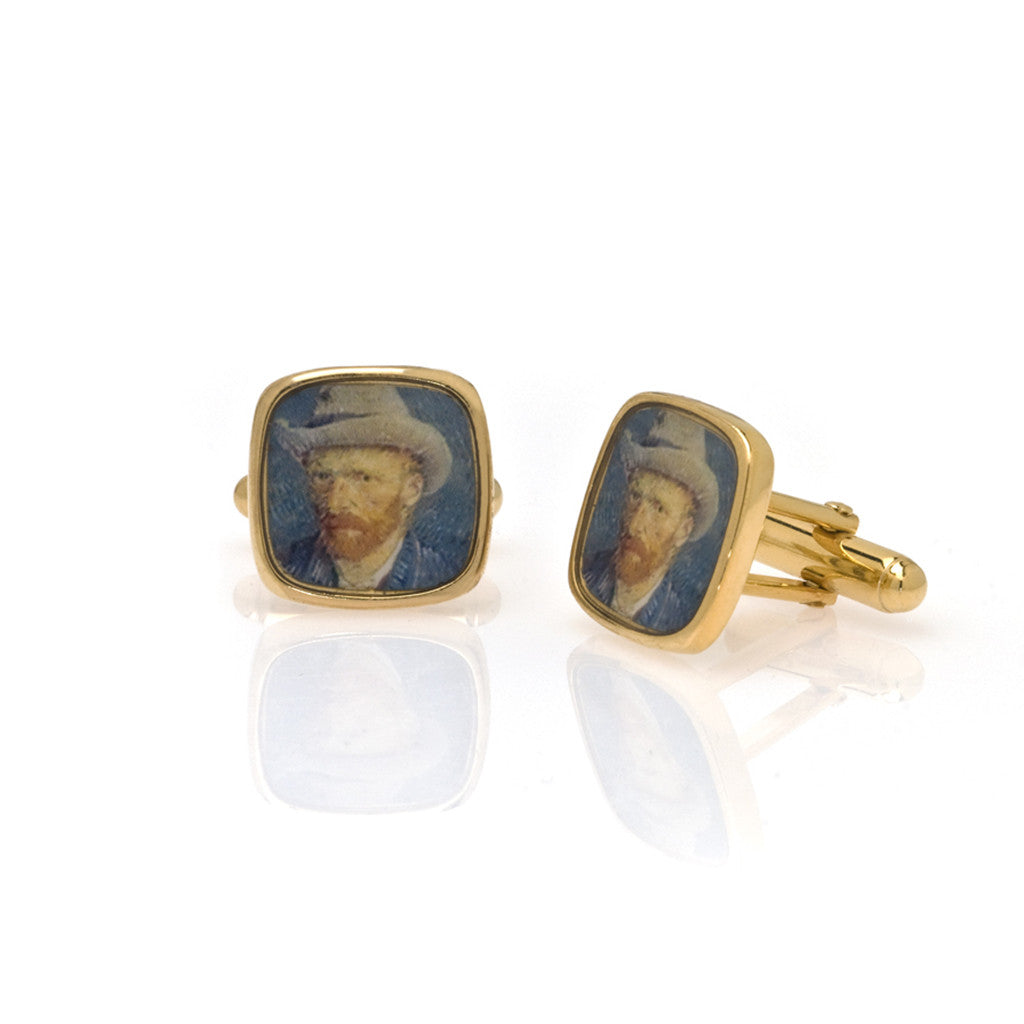Van Gogh Self Portrait Cufflinks
