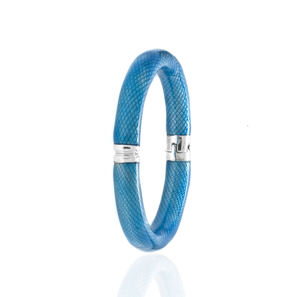 Snakeskin Turquoise Bangle Bracelet