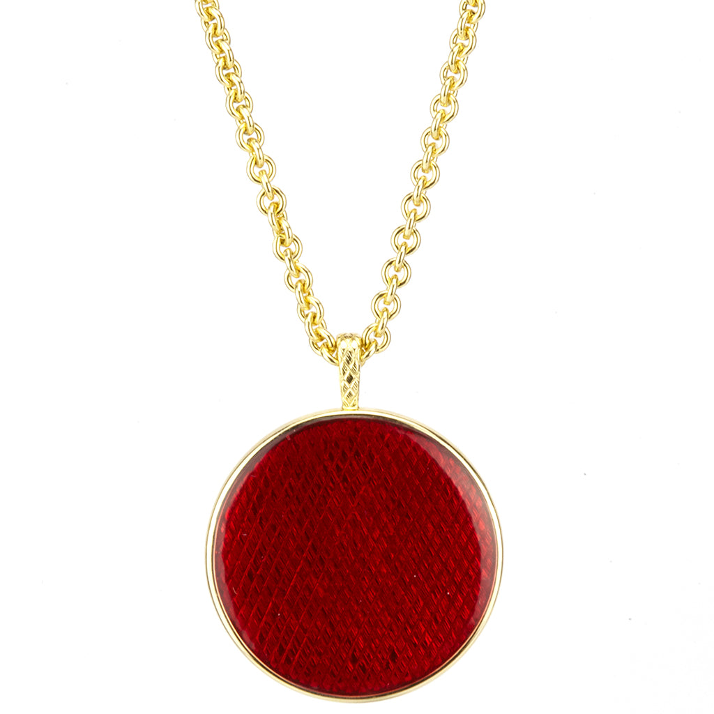 Stardust Memories Red Pendant
