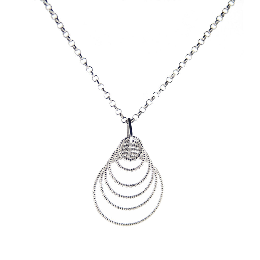Sterling silver Necklace 36""