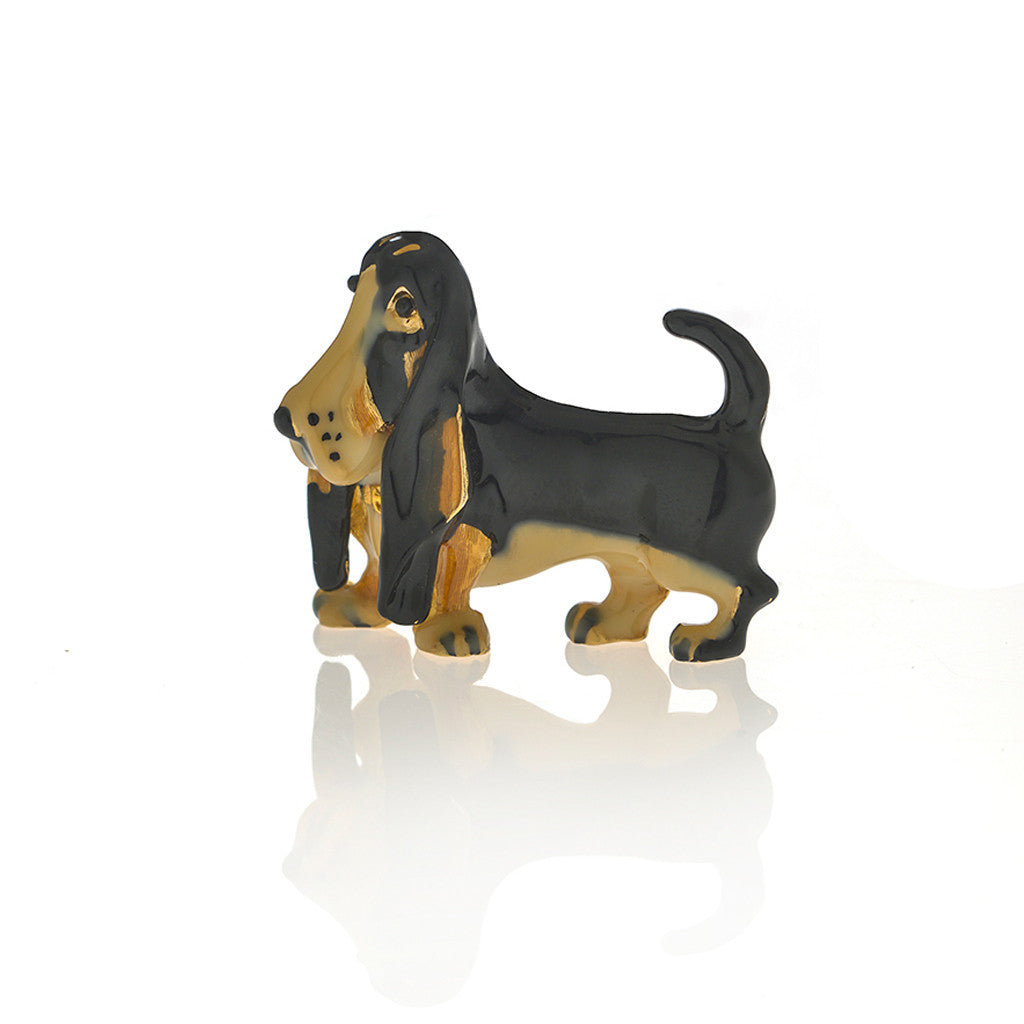 Basset Hound Adorable Pooch ® Pin
