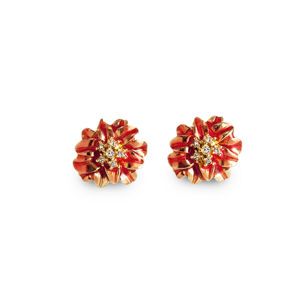 Garden Coral Earrings