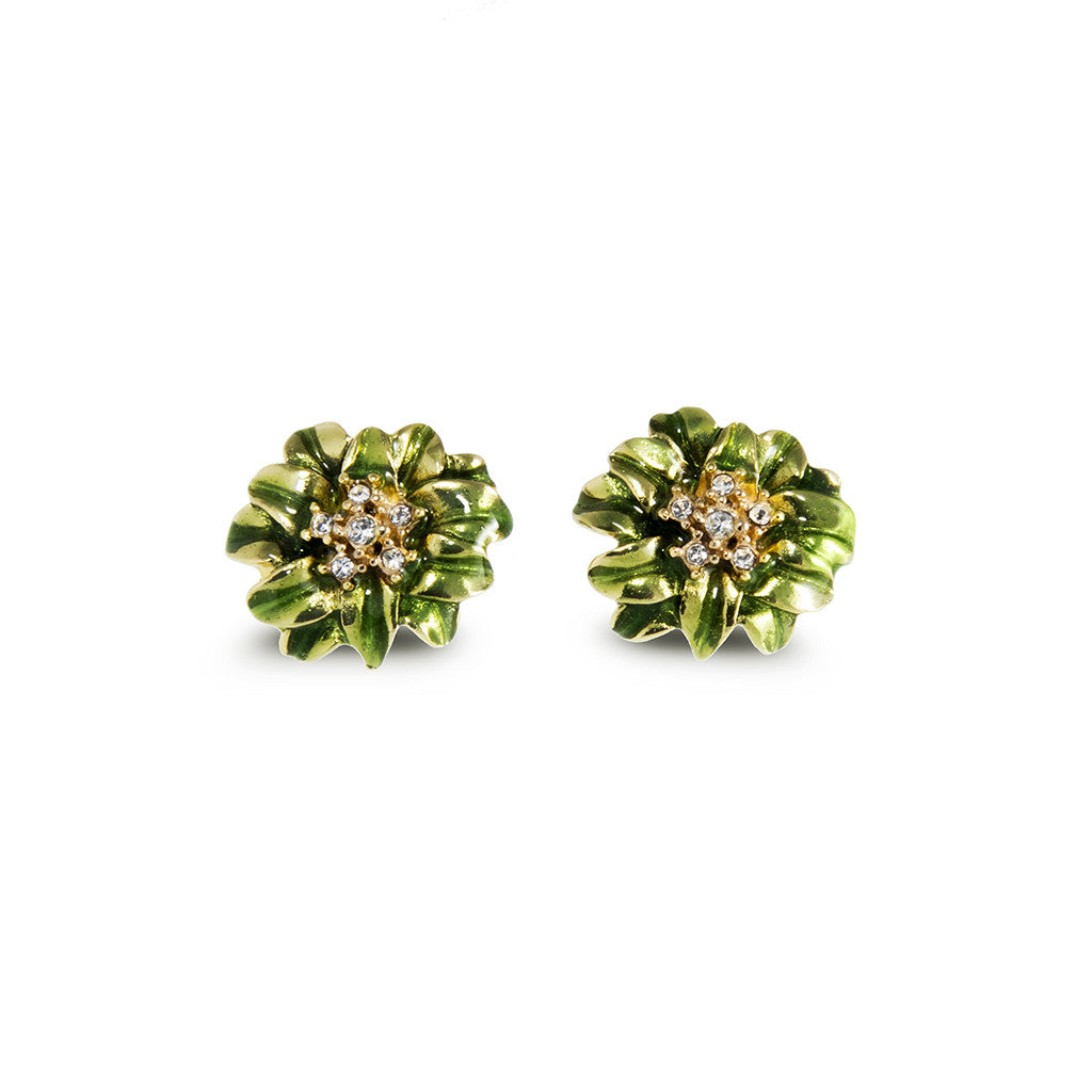Garden Green Earrings