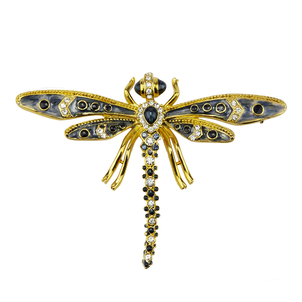 22k Gold-Plated Dragonfly Pin