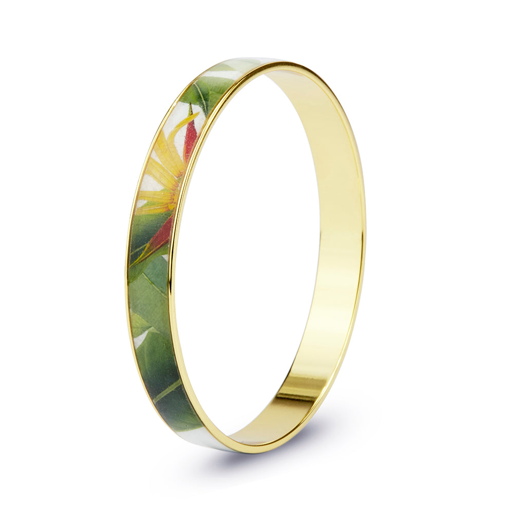 Tropical Bangle Bracelet 3/8""