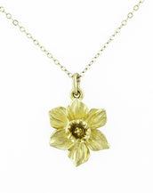 125th Anniversary Daffodil Necklace