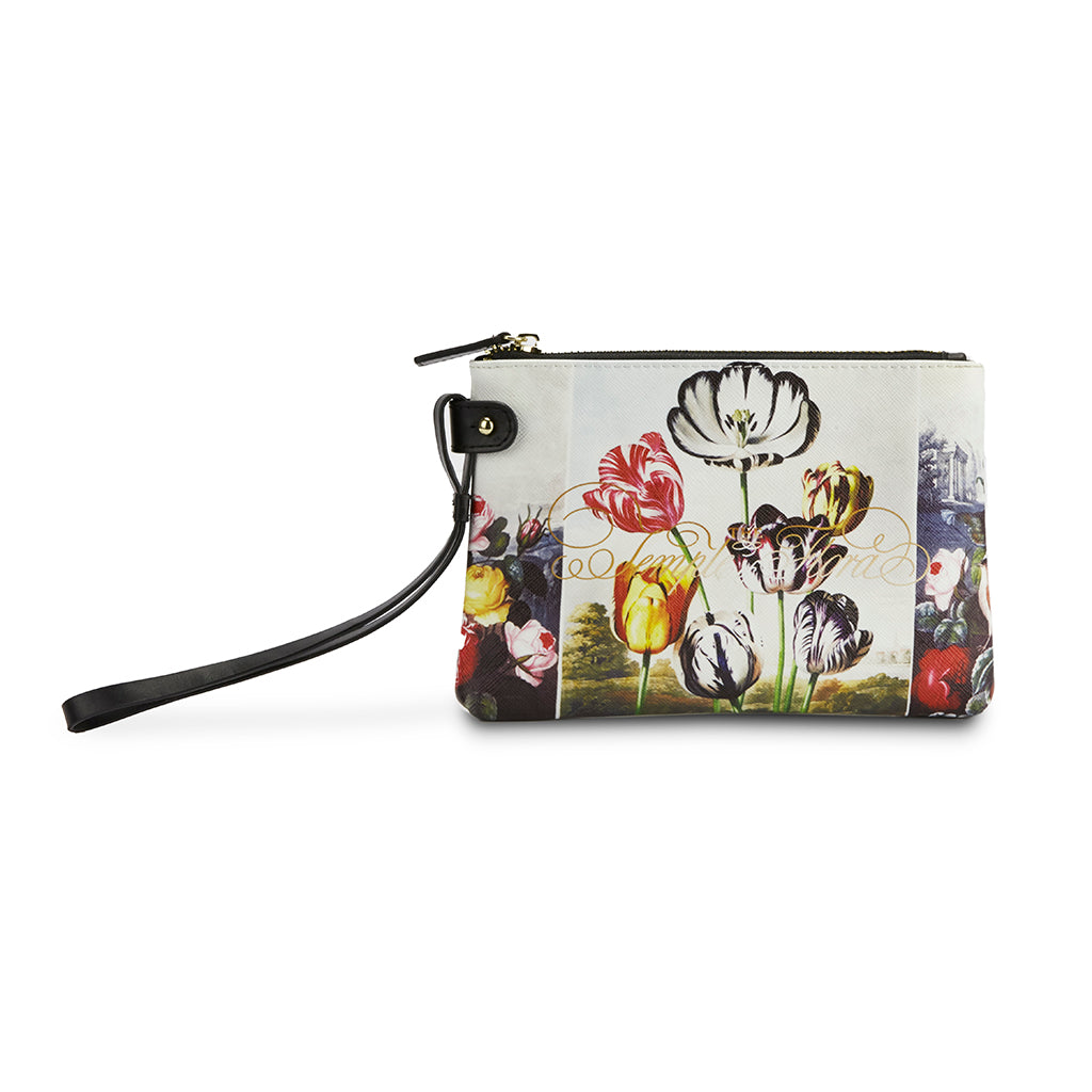 Temple of Flora Clutch Bag
