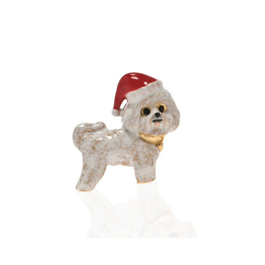 Bichon Frise Christmas Adorable Pooch Pin