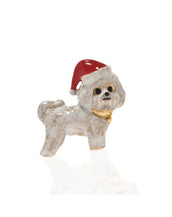 Bichon Frise Christmas Adorable Pooch ® Pin