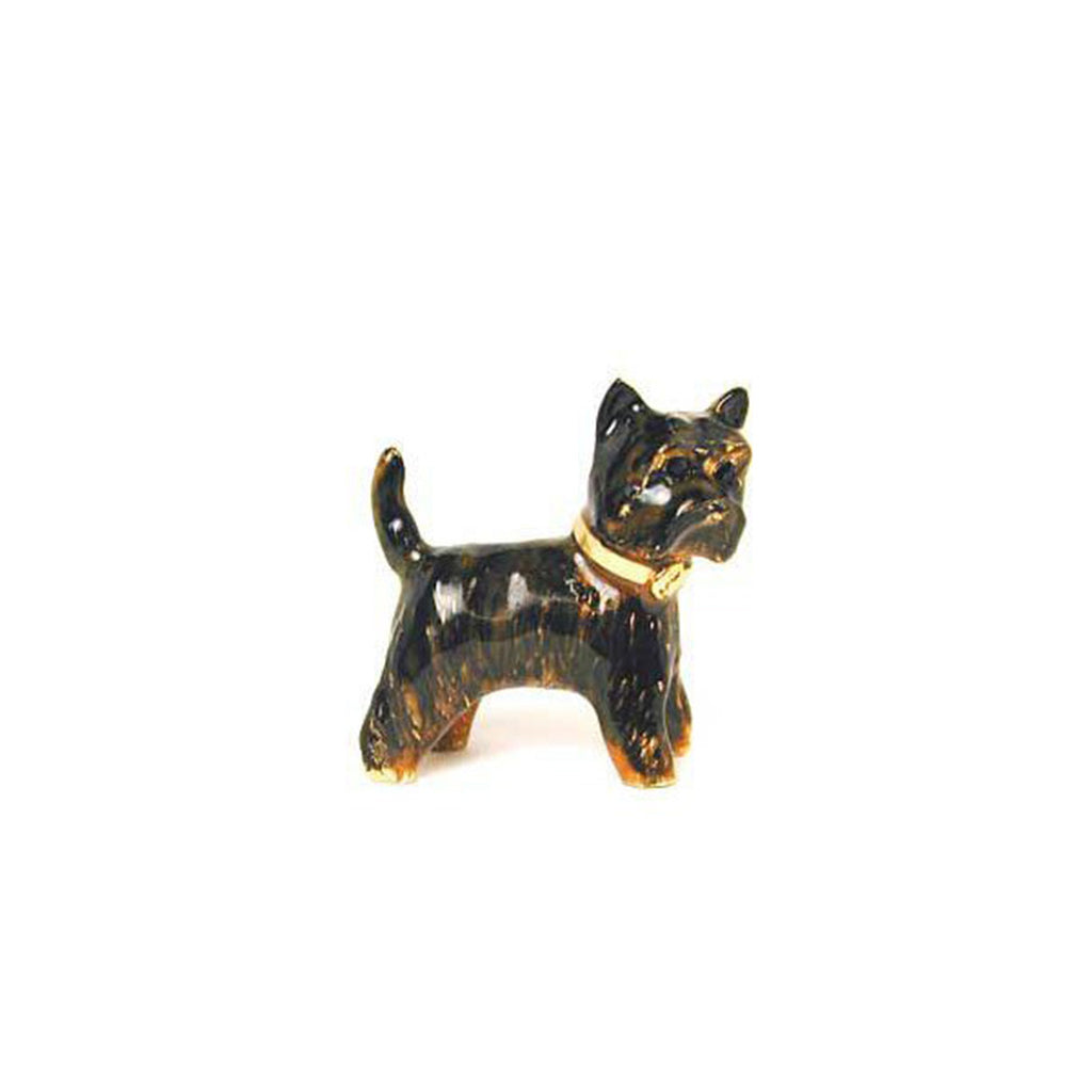 Black Terrier Cairn (Toto) Pin