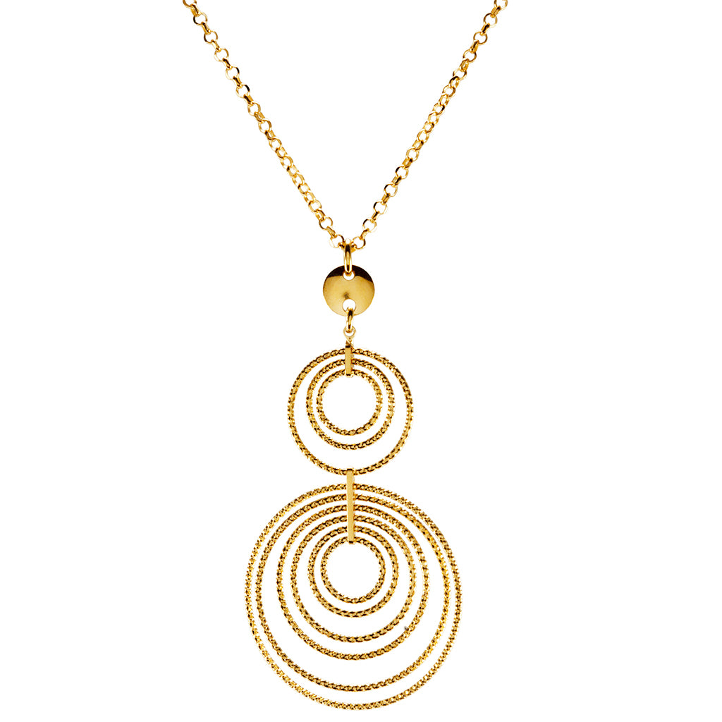 22k Gold Plated Sterling Silver Necklaces 18""