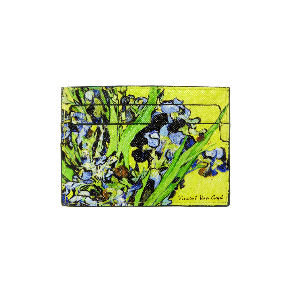 Van Gogh Irises Credit Card Case