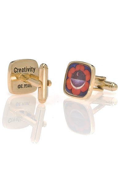 Chakra Creativity Cuff Links