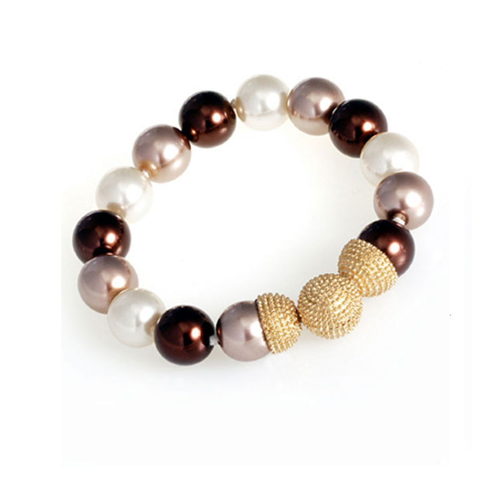Brown 14mm Caviar Magnetic Attractions™ Bracelet