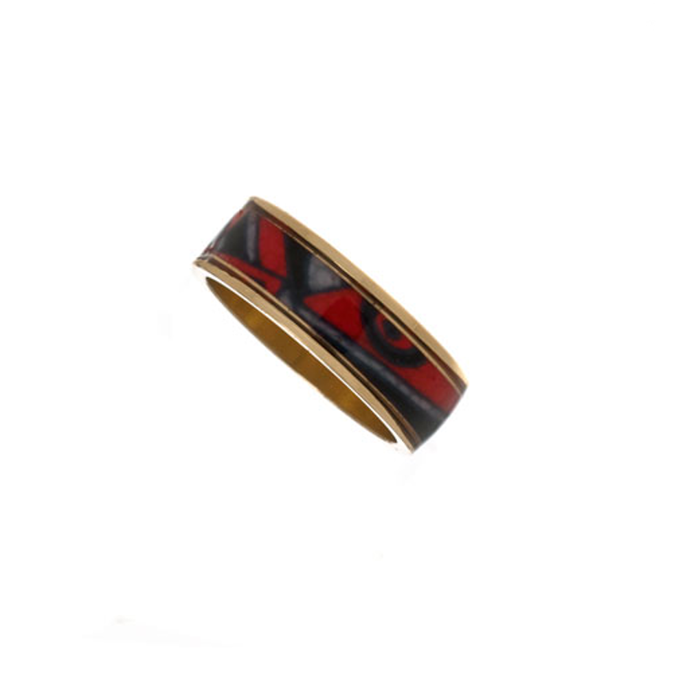 "MAYA™ Abstract Art 1/4"" Ring"