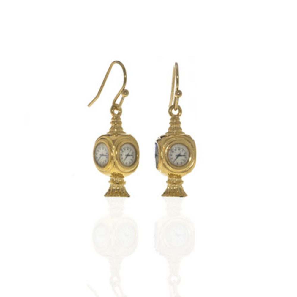 Grand Central Goldtone Drop Earrings